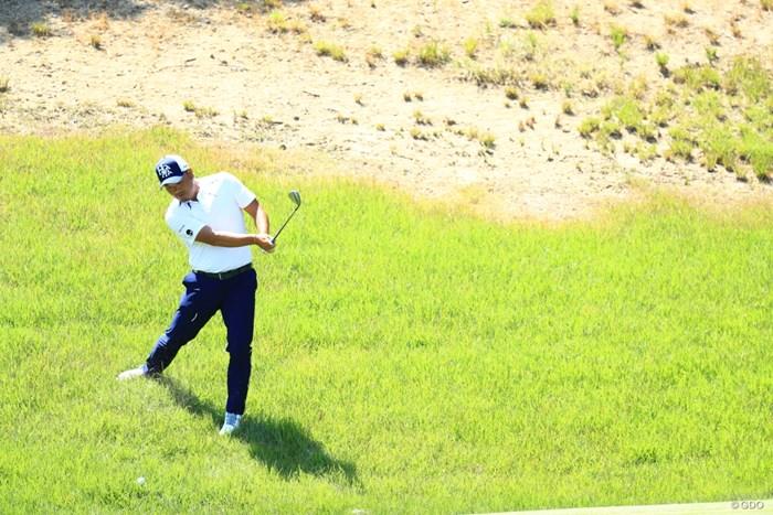 孔明さんにしては珍しいミスショット 2019年 関西オープンゴルフ選手権競技 初日 小田孔明