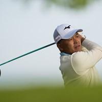 手嶋多一が8位で発進した(Montana Pritchard/PGA of America via Getty images) 2019年 全米シニアプロ選手権 初日 手嶋多一