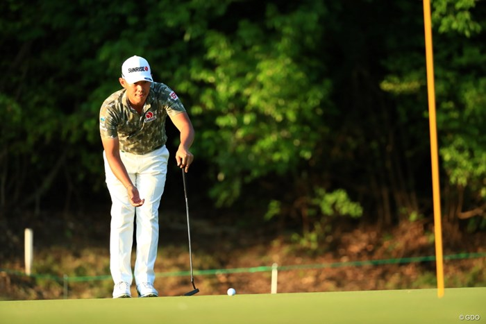 グリーンは難しいぞ 2019年 関西オープンゴルフ選手権競技 2日目 中西直人