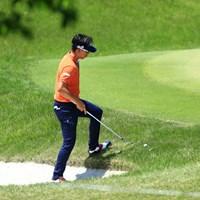 難しそう 2019年 関西オープンゴルフ選手権競技 2日目 上井邦裕