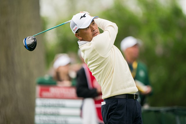手嶋多一は38位に後退し決勝へ(Darren Carroll/PGA of America via Getty images)