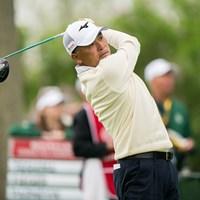 手嶋多一は38位に後退し決勝へ(Darren Carroll/PGA of America via Getty images) 2019年 全米シニアプロ選手権 2日目 手嶋多一