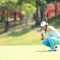 長尺パター片手に 2019年 関西オープンゴルフ選手権競技 3日目 松原大輔