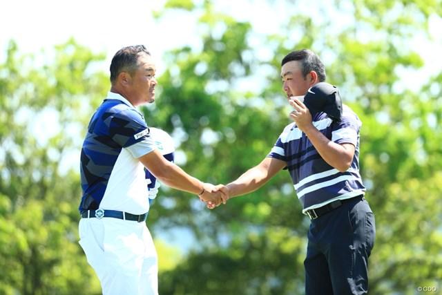 2019年 関西オープンゴルフ選手権競技 3日目 時松隆光 小田孔明
