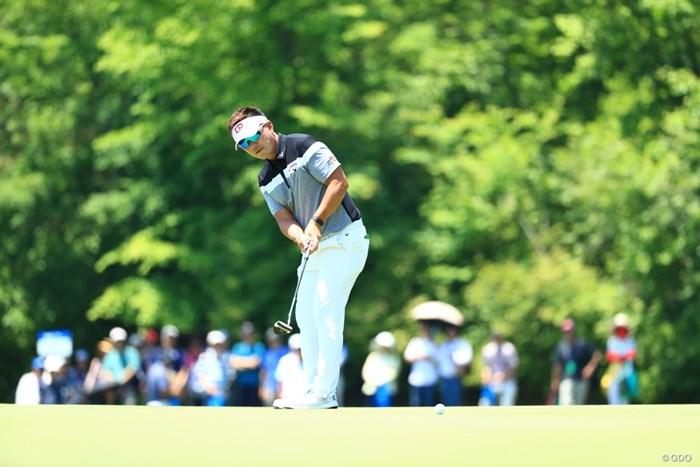 14アンダー2位で最終日 2019年 関西オープンゴルフ選手権競技 3日目 リュー・ヒョヌ