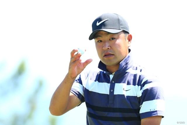 2019年 関西オープンゴルフ選手権競技 3日目 時松隆光 時松隆光は3日目のベストスコアにも気を引き締めた