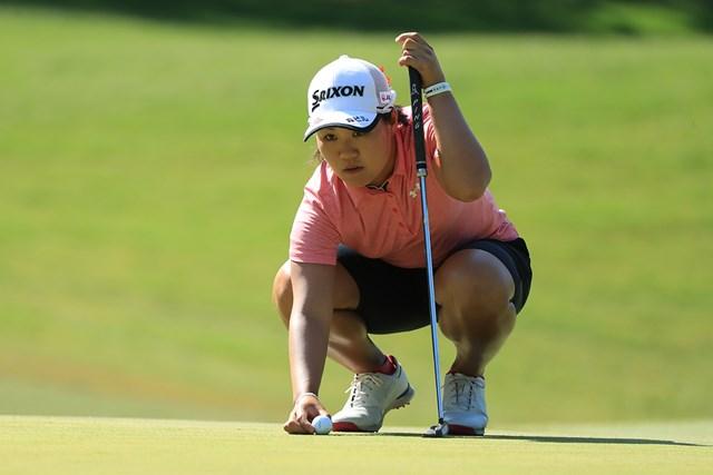 畑岡奈紗はツアー4勝目へ首位タイで最終日に臨む(Hunter Martin/Getty Images)