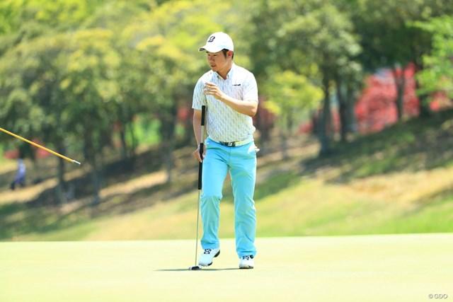 2019年 関西オープンゴルフ選手権競技 最終日 松原大輔 長尺パターでツアーを戦う松原大輔
