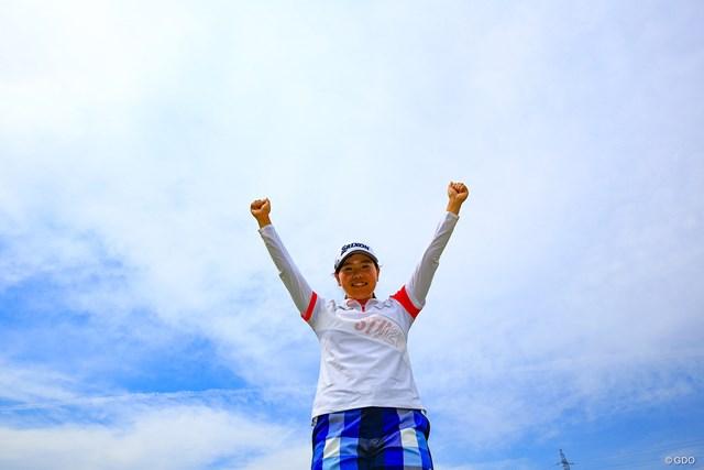 勝みなみが46位に浮上した(※撮影は中京テレビ・ブリヂストンレディスオープン最終日)