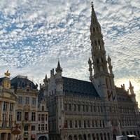 ブリュッセルの美しいグランプラス。今週はベルギーが舞台です 2019年 ベルギーノックアウト 事前 グランプラス