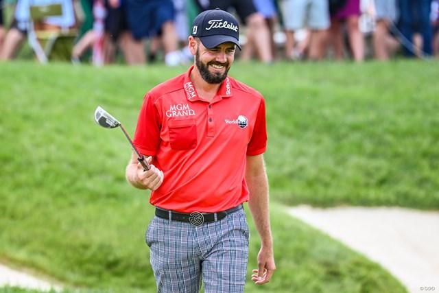 トロイ・メリットは1月の手術を経てツアーに復帰している(Keyur-Khamar/PGA-TOUR/Getty Images)