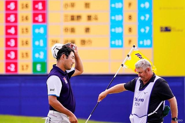 2019年 ~全英への道~ミズノオープン at ザ・ロイヤルGC 3日目 チャン・キム 1打差で最終日を迎えるチャン・キム(左)