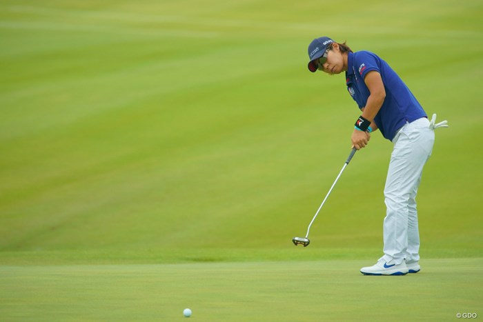 3日間60台をマークする安定したゴルフで5位タイフィニッシュ。 2019年 リゾートトラスト レディス 最終日 穴井詩