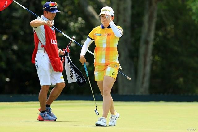 勝みなみは初出場の全米女子オープンを22位で終えて「もっと上に行けたと思う」