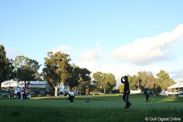 2010年 ノーザントラストオープン 3日目 石川遼 14番のバーディで息を吹き返した石川遼