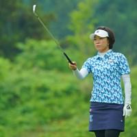 ディフェンディングチャンピオンは72位タイと出遅れた。 2019年 ヨネックスレディスゴルフトーナメント 初日 大山志保