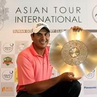 鮮やかな逆転勝利で、開幕戦を制したG.ブラー(写真提供:アジアンツアー) 2010年 アジアンツアーインターナショナル 最終日 ガガンジート・ブラー