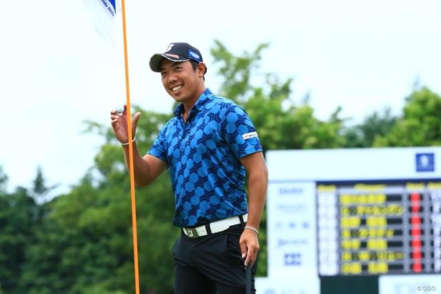 第2ラウンド「67」として単独首位で決勝に進んだ堀川未来夢