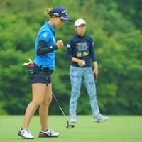 希望通りキム・ヒョージュとの同組を実現させた上田桃子 2019年 ヨネックスレディスゴルフトーナメント 2日目 上田桃子