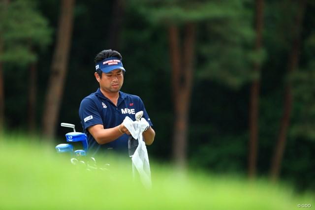 2019年 日本ツアー選手権 森ビル杯 Shishido Hills 3日目 池田勇太 自分で一生懸命クラブ掃除