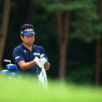 自分で一生懸命クラブ掃除 2019年 日本ツアー選手権 森ビル杯 Shishido Hills 3日目 池田勇太