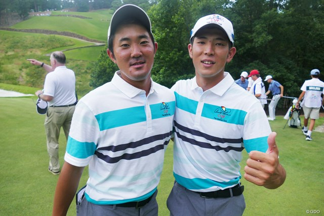 初コンビを組んだ日本が誇るトップアマ2人