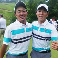 初コンビを組んだ日本が誇るトップアマ2人 金谷拓実と中島啓太