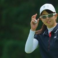 爽やかな風が吹き抜けそう。 2019年 ヨネックスレディスゴルフトーナメント 最終日 大田紗羅