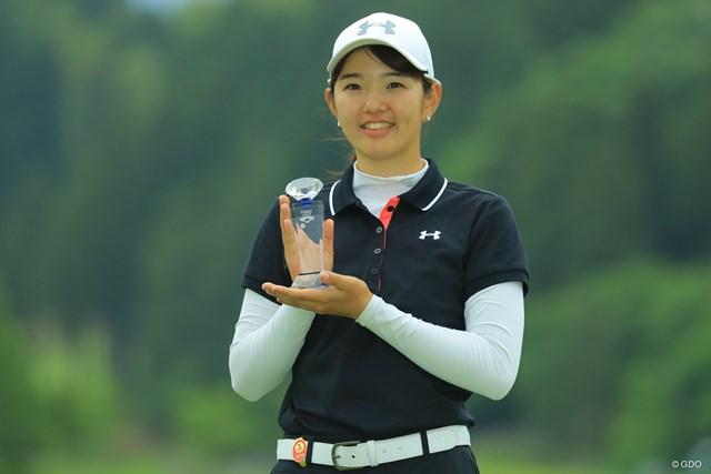 2019年 ヨネックスレディスゴルフトーナメント 最終日 大田紗羅 もちろんベストアマチュア獲得。