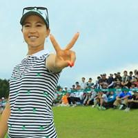 今季2勝目、Yes! 2019年 ヨネックスレディスゴルフトーナメント 最終日 上田桃子