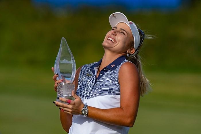 レキシー・トンプソンが今季初勝利 (John Jones/Icon Sportswire via Getty Images) 2019年 ショップライトLPGAクラシックby Acer 最終日 レキシー・トンプソン