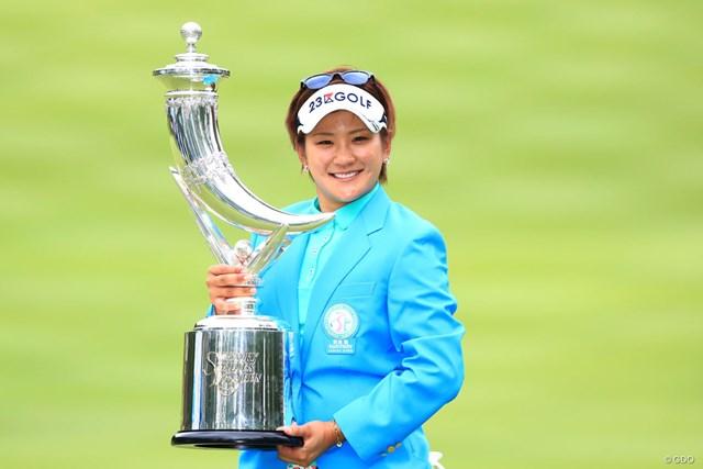 昨年大会は成田美寿々がプレーオフを制して優勝した