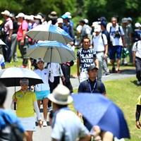 ボミちゃん頑張るとギャラリーも増える 2019年 宮里藍サントリーレディスオープンゴルフトーナメント 初日 イ・ボミ