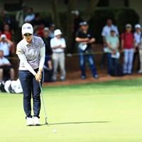 バーディはいただきだな 2019年 宮里藍サントリーレディスオープンゴルフトーナメント 初日 比嘉真美子
