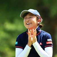 あ~ん楽しいな~ 2019年 宮里藍サントリーレディスオープンゴルフトーナメント 初日 菅沼菜々