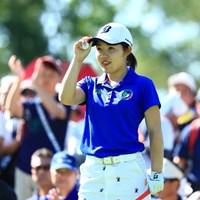 3アンダー13位タイ、アマチュアですよ 2019年 宮里藍サントリーレディスオープンゴルフトーナメント 初日 古江彩佳