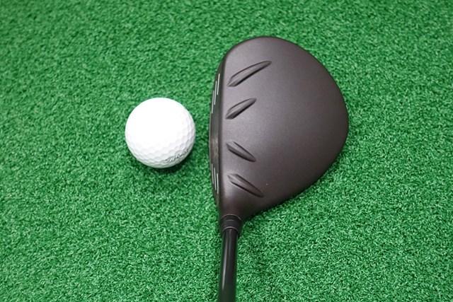 新製品レポート ピン G410 フェアウェイウッド ヘッドはやや大きめ。ソール形状のおかげで据わりが抜群に良い