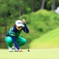 一つ伸ばしただけね 2019年 宮里藍サントリーレディスオープンゴルフトーナメント 2日目 比嘉真美子