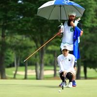 難しいライン 2019年 宮里藍サントリーレディスオープンゴルフトーナメント 2日目 イ・ボミ