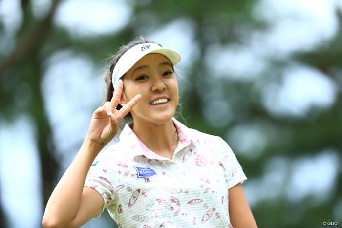 ハローで~す 2019年 宮里藍サントリーレディスオープンゴルフトーナメント 2日目 エイミー・コガ