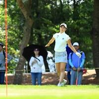 飛んでっちゃいそう 2019年 宮里藍サントリーレディスオープンゴルフトーナメント 2日目 金澤志奈