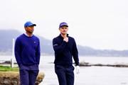 2019年 全米オープン 2日目 タイガー・ウッズ ジャスティン・ローズ