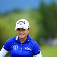 暫定ではあるがトップと1打差に 2019年 宮里藍サントリーレディスオープンゴルフトーナメント 3日目 河本結