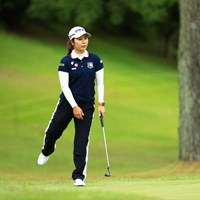 珍しい恰好したね 2019年 宮里藍サントリーレディスオープンゴルフトーナメント 3日目 比嘉真美子