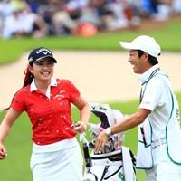 18番にっこにこ! 2019年 宮里藍サントリーレディスオープンゴルフトーナメント 最終日 河本結