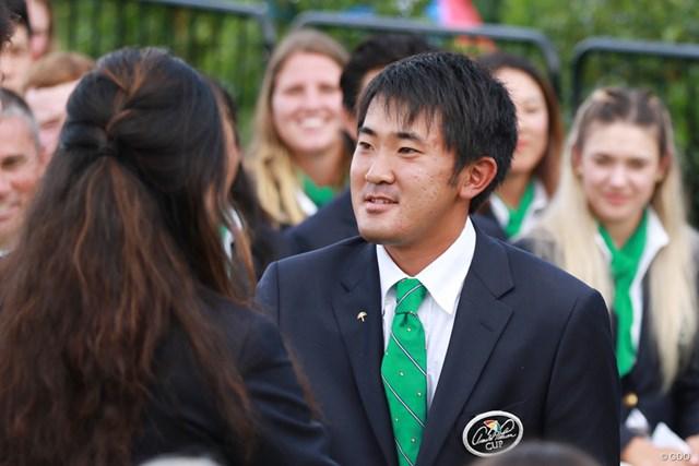 金谷拓実 19年には日本人初のパーマーカップ出場も果たした