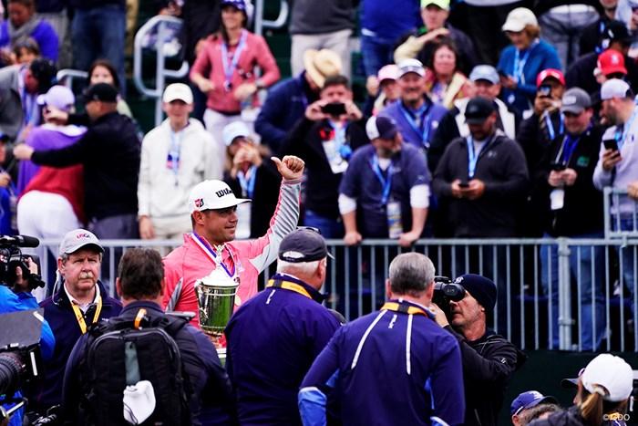初のメジャー制覇を遂げたゲーリー・ウッドランド 2019年 全米オープン 最終日 ゲーリー・ウッドランド