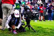 2019年 全米オープン 最終日 カメラマン