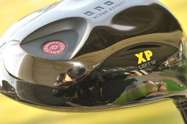 新製品レポート 「上級者向け美人ドライバー!」グローブライド オノフ プラス ドライバー(XP) NO.5 ソール部分も黒塗りで引き締まったフォルムだ