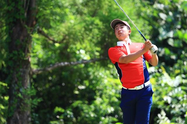 日本男子は2位。杉浦悠太は「65」をマークし、個人戦で2位につけた